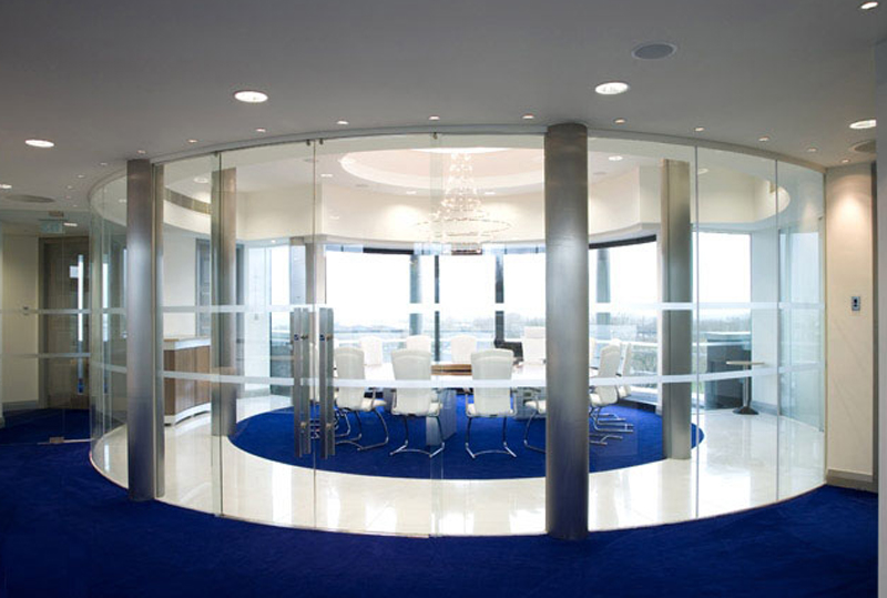 D R Services Offers Curved Glass Sliding Doors To Suit A Wide